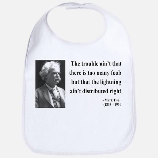 Mark Twain 33 Bib