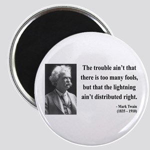 Mark Twain 33 Magnet