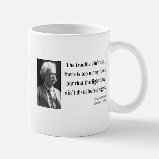 Mark Twain 33 Mug