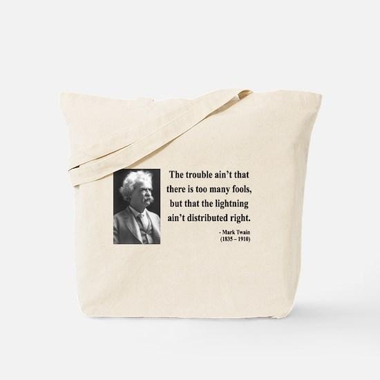 Mark Twain 33 Tote Bag