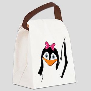 Fancy Tux Canvas Lunch Bag