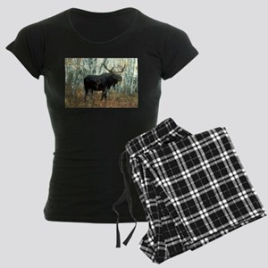 Huge Moose Women's Dark Pajamas