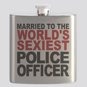 Married To The Worlds Sexiest Police Officer Flask