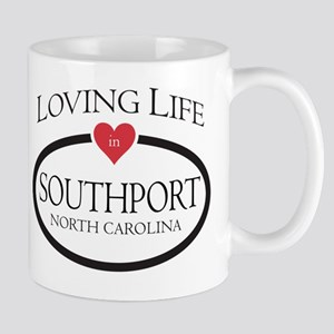 Loving Life in Southport, NC Mug