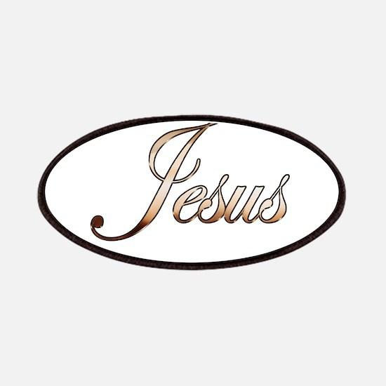 Gold Jesus Patch