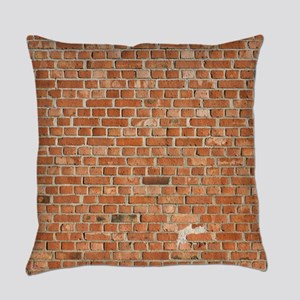 Brick Wall Everyday Pillow