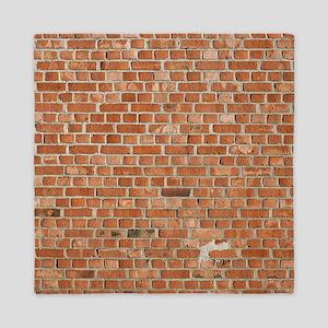 Brick Wall Queen Duvet