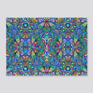 Colorful Abstract Psychedelic Symmetrical Swirls 5