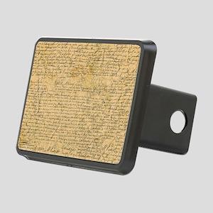Old Manuscript Hitch Cover