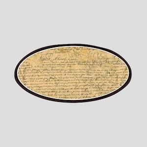 Old Manuscript Patch