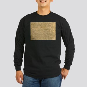 Old Manuscript Long Sleeve T-Shirt