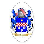 Marque Sticker (Oval 10 pk)