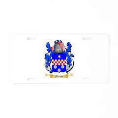 Marque Aluminum License Plate