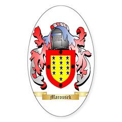 Marousek Sticker (Oval)