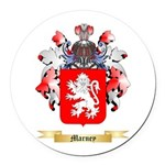 Marney Round Car Magnet
