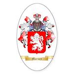 Marney Sticker (Oval 50 pk)