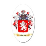 Marney 20x12 Oval Wall Decal