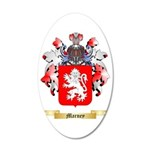 Marney 35x21 Oval Wall Decal