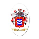 Marner 20x12 Oval Wall Decal