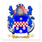 Markowski Square Car Magnet 3