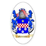 Markowski Sticker (Oval 10 pk)