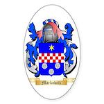 Markowitz Sticker (Oval 10 pk)