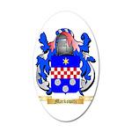 Markowitz 35x21 Oval Wall Decal