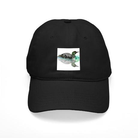 Loon Black Cap