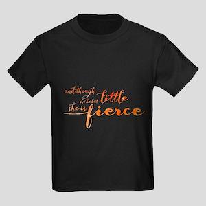 She is Fierce Kids Dark T-Shirt