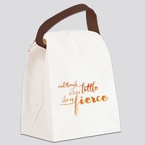 She is Fierce Canvas Lunch Bag