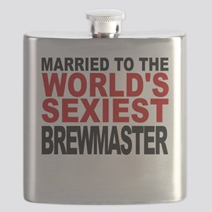 Married To The Worlds Sexiest Brewmaster Flask