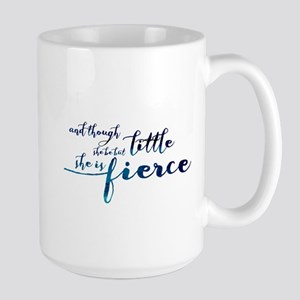She is Fierce Large Mug