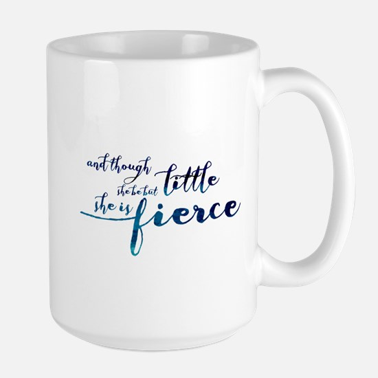 She is Fierce Large Mug