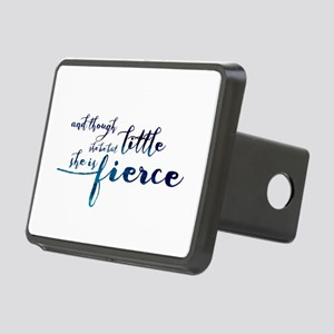 She is Fierce Rectangular Hitch Cover
