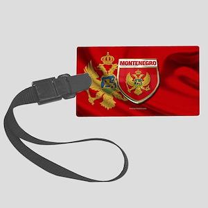 Montenegro Large Luggage Tag