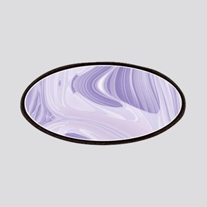 pastel lilac purple swirls Patch