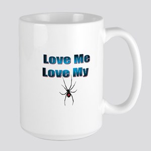 Love Me Love My Spyder Blue Mugs