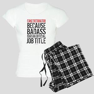Cake Decorator Badass Women's Light Pajamas