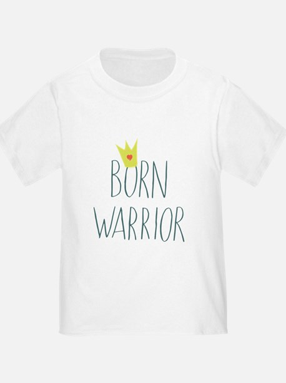 Born Warrior - Little Prince T-Shirt