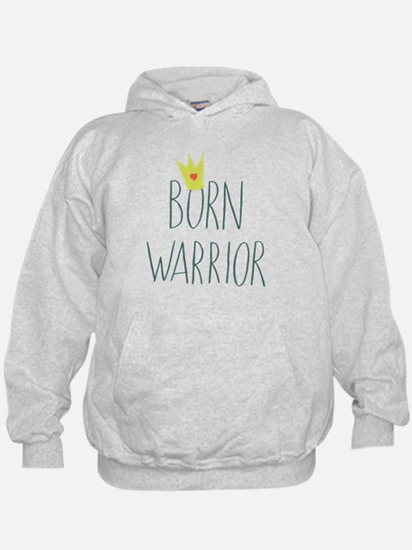 Born Warrior - Little Prince Hoodie