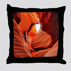 The Inner Canyon Throw Pillow