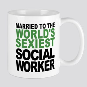 Married To The Worlds Sexiest Social Worker Mugs