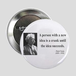 """Mark Twain 35 2.25"""" Button"""