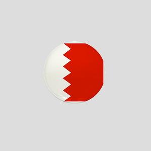 Square Bahrain Flag Mini Button