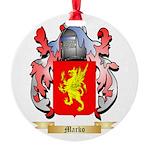 Marko Round Ornament