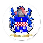 Marklin Round Car Magnet