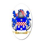 Markiewicz 35x21 Oval Wall Decal