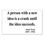 Mark Twain 35 Rectangle Sticker