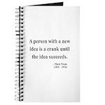 Mark Twain 35 Journal