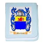 Markham baby blanket
